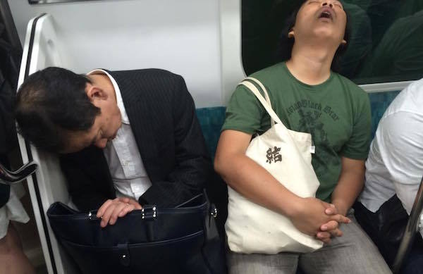 Snoring On Subway