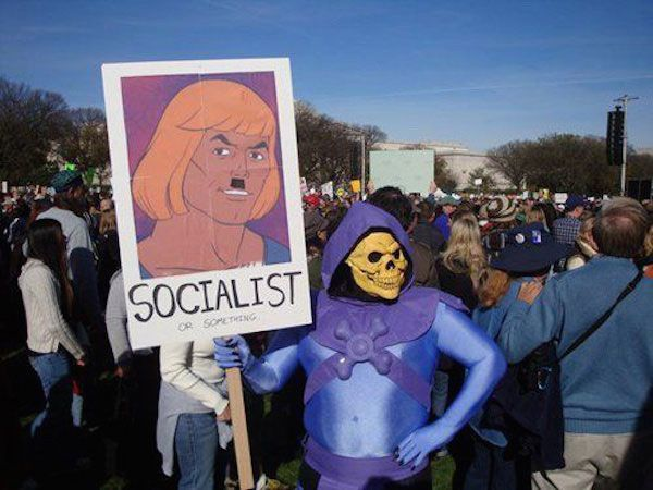 Socialist He Man