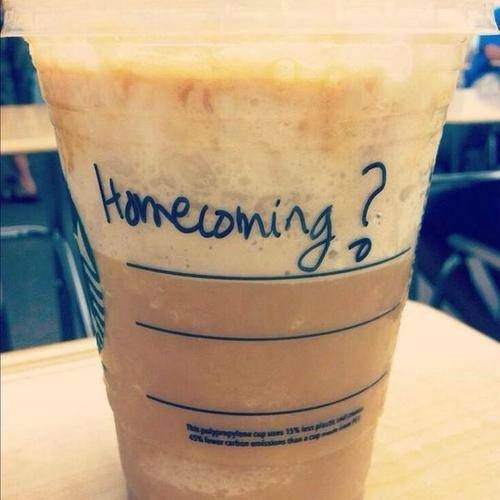 Starbucks Homecoming Fails