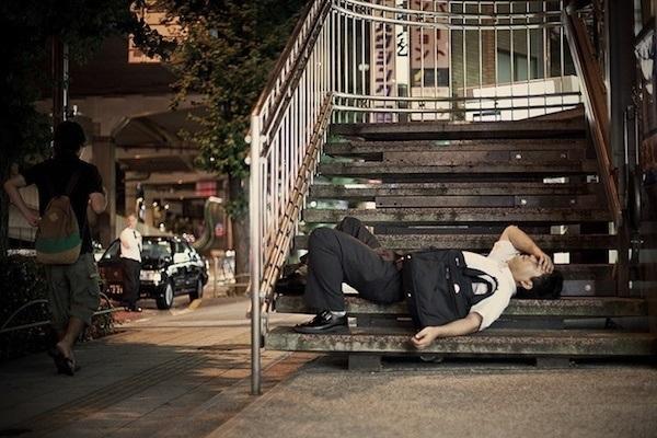 Tokyo Salaryman Alseep