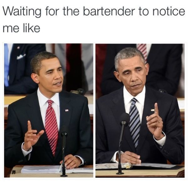 Waiting For The Bartender