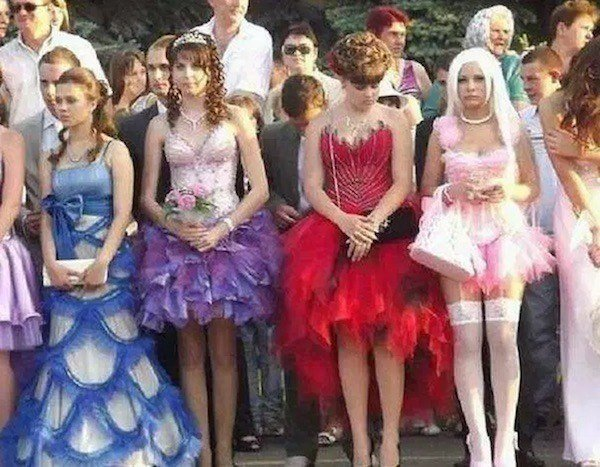 Weird Prom Night Dresses