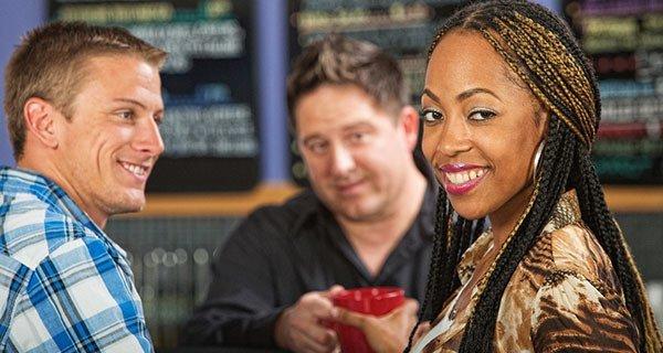 Woman Friends Coffee Shop