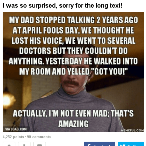 April Fools Things That Happened
