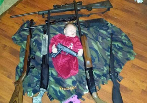 Baby With Guns