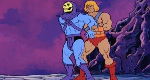 Behind Skeletor