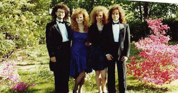 Big Hair 80s Prom