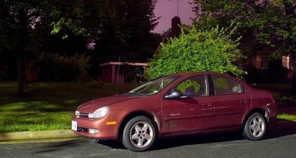 Car In The Suburbs