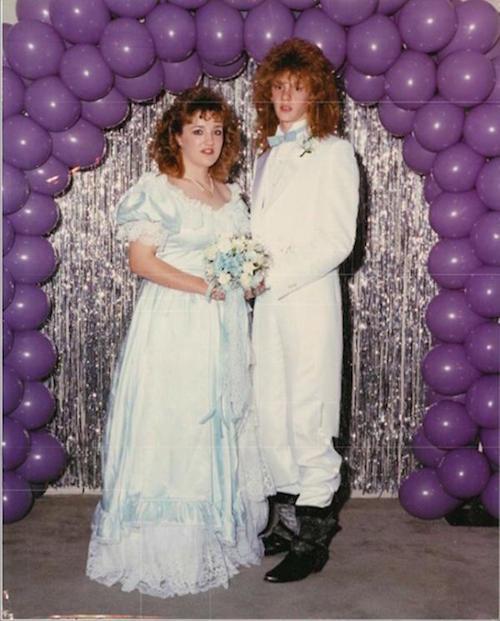 Tremendous 29 Hilarious 80S Prom Photos The Decade Fashion Forgot Short Hairstyles Gunalazisus