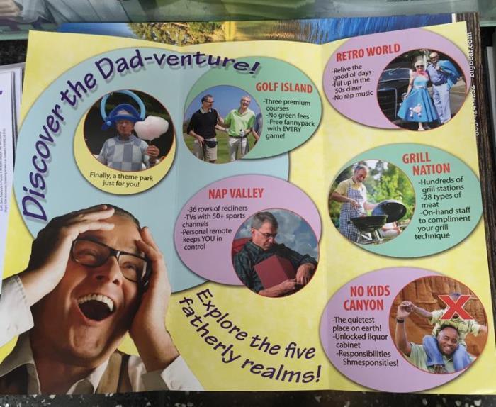 Dad Land Brochure