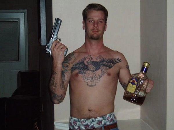 Drunk With Gun