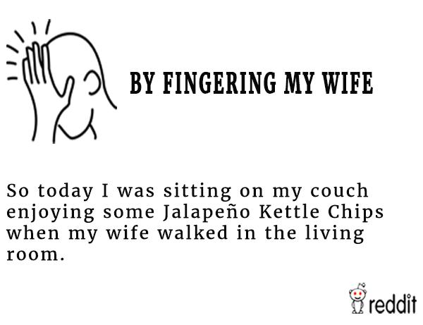 Fingering My Wife