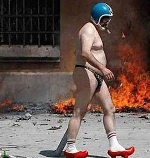 Fire And Socks Weird Pictures From The Internet