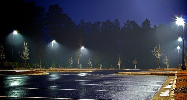 Foggy Parking Lots
