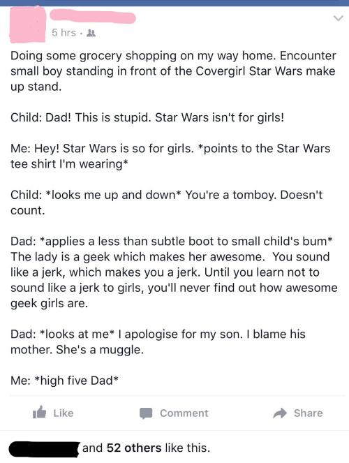 Girl Star Wars