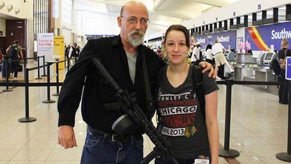 Gun In Airport