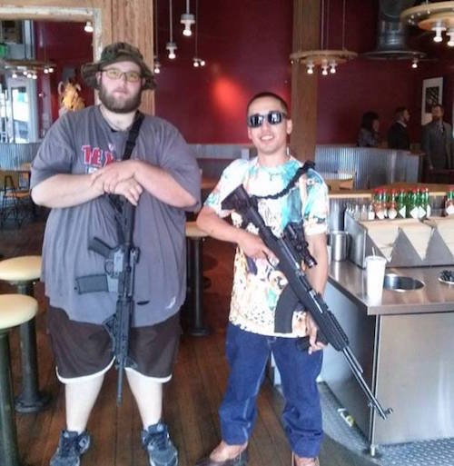 Gun Nuts In Chipotle