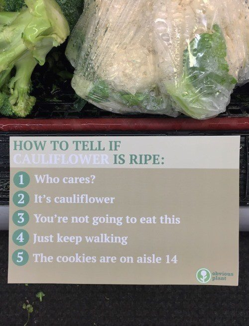 How To Tell A Vegetable Is Ripe