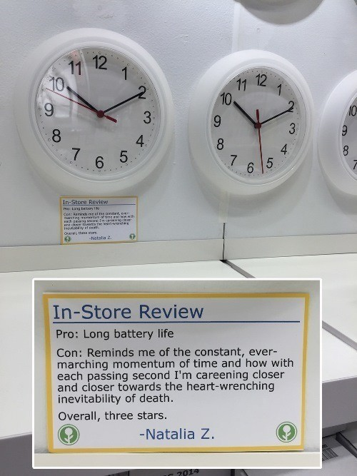 Ikea Clock Review