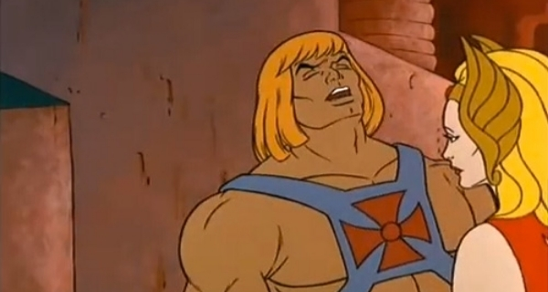 Implied Hand Job He Man Gay