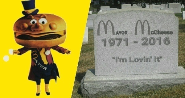 Mayor Mccheese Dead