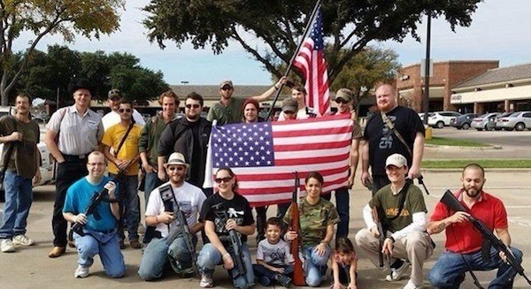 Open Carry Demonstrators