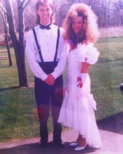 Groovy 29 Hilarious 80S Prom Photos The Decade Fashion Forgot Short Hairstyles Gunalazisus