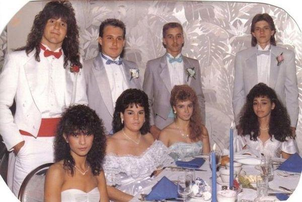 Fabulous 29 Hilarious 80S Prom Photos The Decade Fashion Forgot Short Hairstyles Gunalazisus
