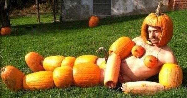Pumpkin Seduction Weird Pictures