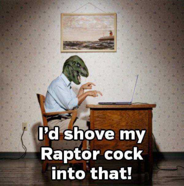 Raptor Cock