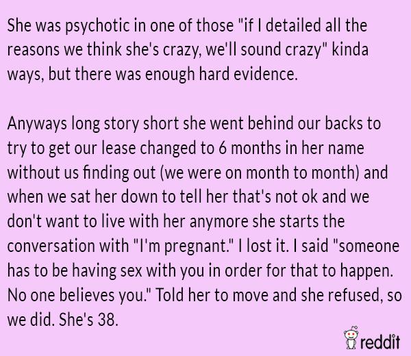 Roommate Horror Stories