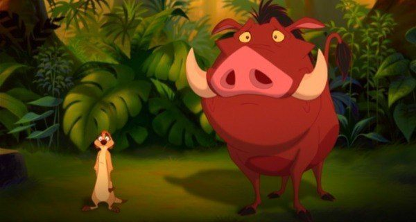 Sad Timon And Pumbaa