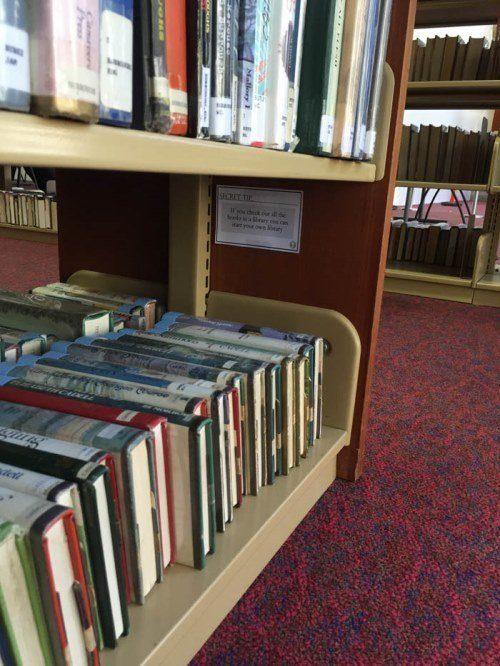 Secret Library Tip 2