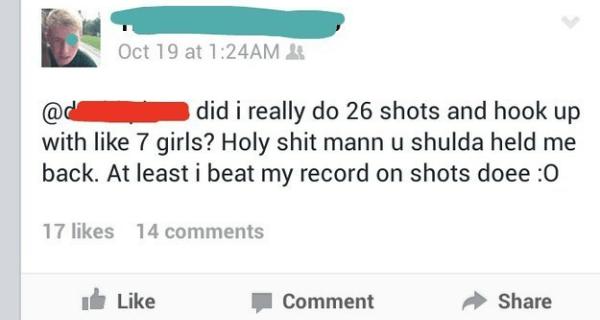 Shot Record