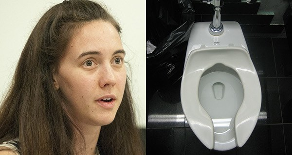 Woman Discovers Urine Free Movie Theater Toilet Seat
