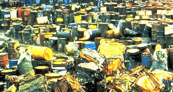 Toxis Waste Drums