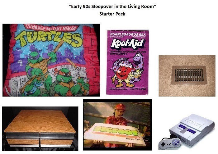 90s Sleep Over