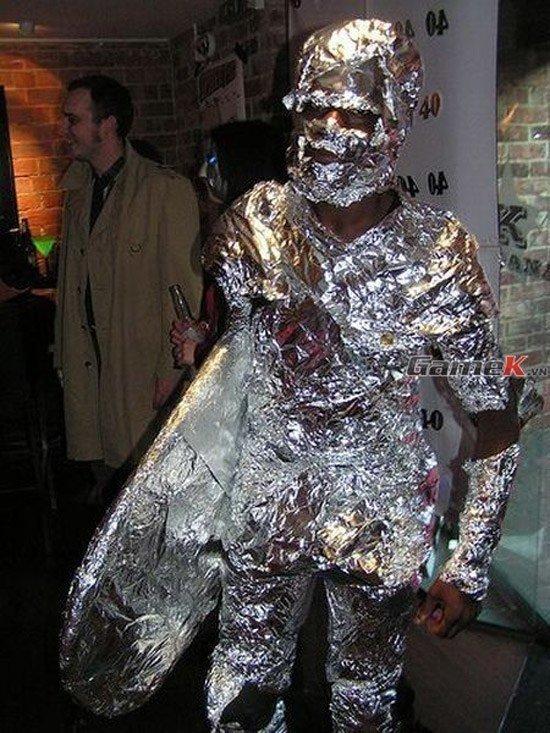 Aluminum Foil Silver Surfer