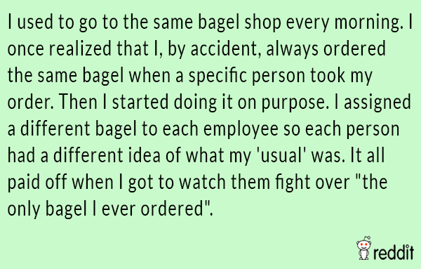 Bagel Shop Prank