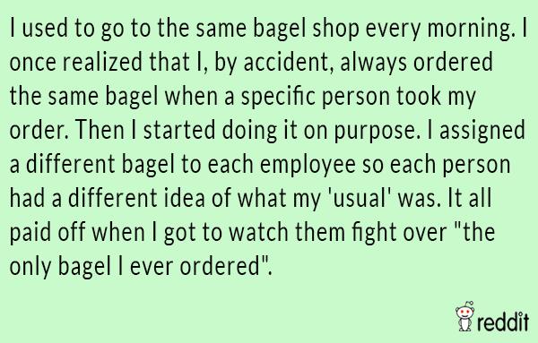 Bagel Shop Prank