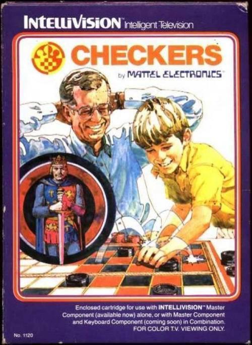 Checkers Atari