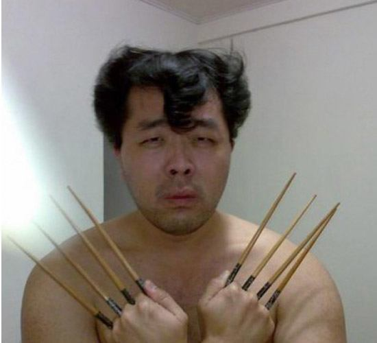 Chopstick Wolverine