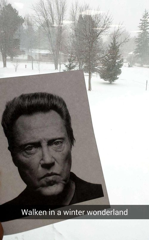 Christopher Walken Snap