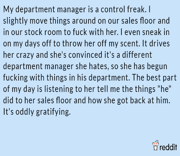 Control Freak Manager