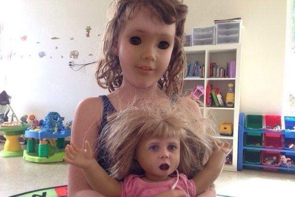 Creepy Doll Face Swap