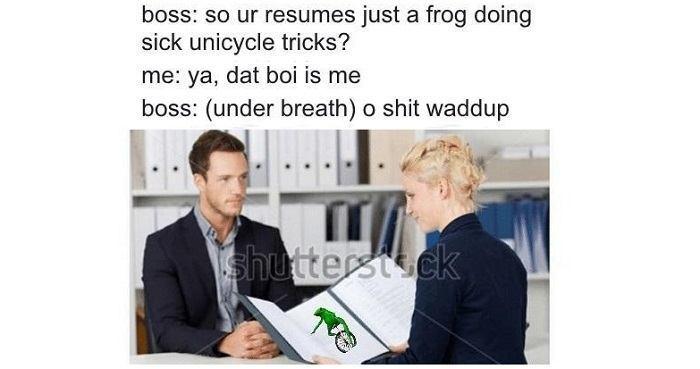 Dat Boi Meme Og