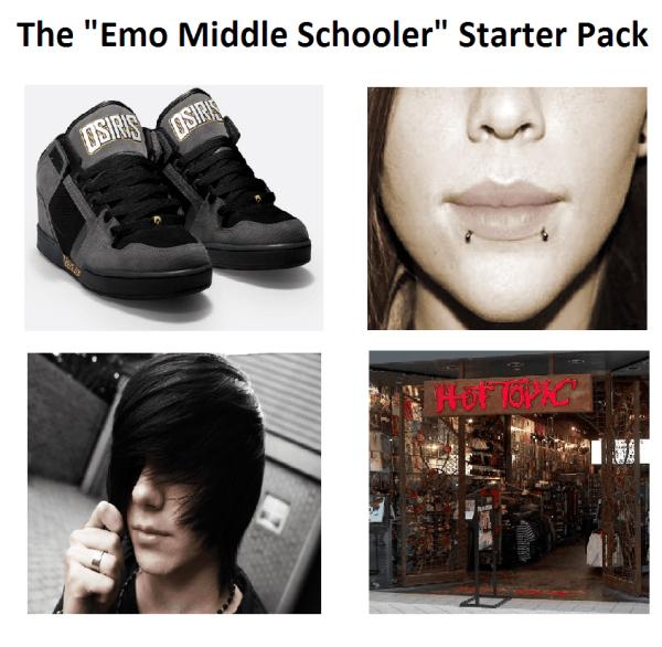 Emo Middle Schooler