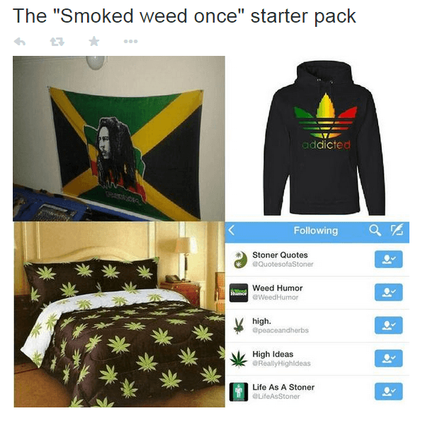 First Time Smoker Starter Pack Memes