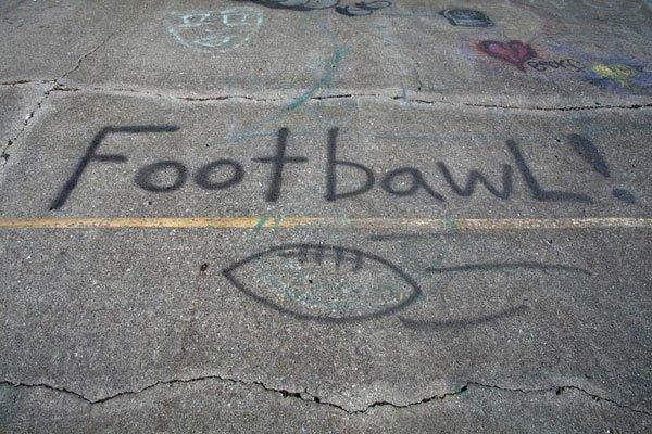Footbawl Graffiti