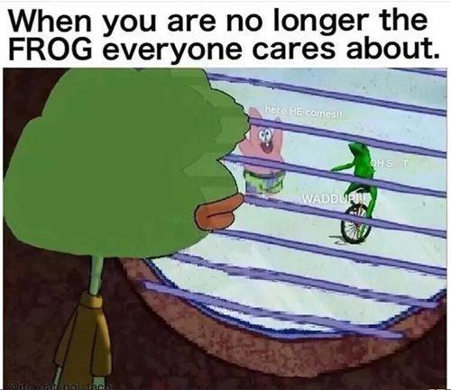 Frog Jealousy